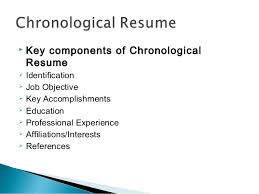 ... Terrific Resume Components 4 Resume Writing Ppt ...