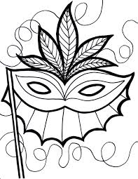 Small Picture Free Printable Mardi Gras Coloring Pages For Kids