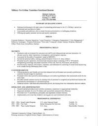 Functional Resume Samples Barraques Org