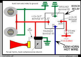 horn relay wiring diagram for connections wiring diagram for horn relay schematic easy wiring diagrams rh 31 superpole exhausts de basic relay wiring diagram car horn wiring diagram