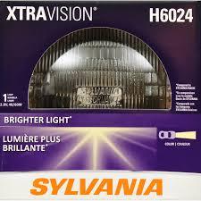 Sylvania Headlight Bulb Comparison Chart More Downroad Vision Sylvania H6024 Xtravision Headlight