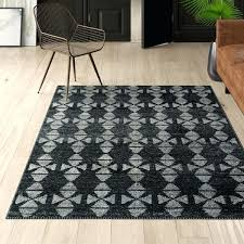 dark grey rug runner charcoal