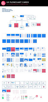 ux flowchart sitemap cards 2 by codemotion design kits on creativemarket