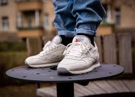 reebok classic on feet
