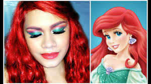 disney princess the little mermaid ariel makeup tutorial