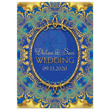 glitter gold & blue ganesha indian wedding invitation Wedding Invitation Blue And Green glitter gold & blue ganesha wedding invitation wedding invitation blue green motif
