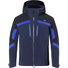 Kjus Speed Reader Ski Jacket Atlanta Blue Black Men