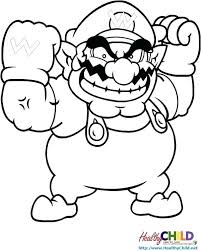 Coloring Pages Mario Super Coloring Pages To Print World Coloring