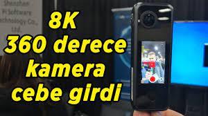 8K / 360 derece kamera cebe girdi | PilotOne kamera ön inceleme - YouTube