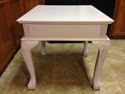 distressing furniture with chalk paint. Paint Distress Table With Chalk For Distressing Furniture