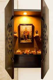 Small Picture wall mounted pooja mandir designs Google Search Projects to