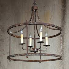 chandeliers large iron chandelier antique farmhouse alhambra collection round wrought