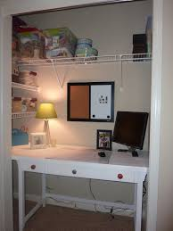 closet office ideas. Closet Office - More Than Rubies DIY Show Off ™ Decorating And Home Improvement BlogDIY \u2013 Blog Ideas