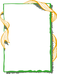 gold ribbon border ribbon frame gold green page frames more frames ribbon edge