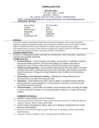 Business Telecommunications Technician Resume