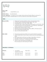 Entry Level Network Engineer Resume Sample Entry Level Network Engineer Cover Letter Resume Sample Networking