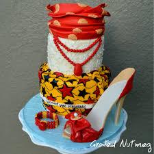 African Traditional Wedding Cakes Bridal Studio