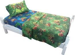 Ninja Turtle Bedroom Furniture Teenage Mutant Ninja Turtles Sheet Set Walmartcom