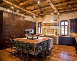 kitchen with spanish style furniture 700x555