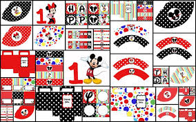 Mickey Mouse Party Printables Free Home Interior Garden Mickey Mouse Party Decorations