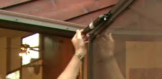 adjusting a pneumatic closer on a storm door