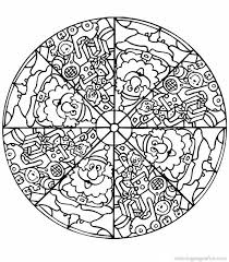 Small Picture Ideal Mandala Coloring Pages Free Printable Coloring Page and