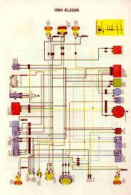 wiring diagrams honda xl xr 200 250 350 wiring diagrams