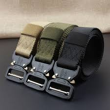 Men's Casual Fashion <b>Nylon</b> Belt <b>Outdoor Tactical</b> Belt-buy at a low ...