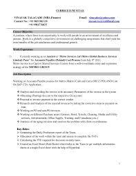 CURRICULUM VITAE VINAYAK TALAGADE (MBA Finance) Email: vinayakst@yahoo.com  Contact ...