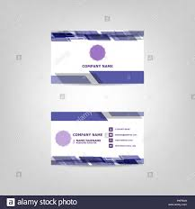 Abstract Design Company Business Card Abstract Design Template Stock Vector Stock