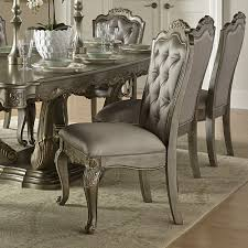 Taupe Dining Room Chairs Florentina 9 Piece 84x44 Dining Room Set In Taupe Rich Silver D