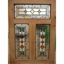 sd026 victorian edwardian 5 panel original stained glass exterior door national trust farrow ball