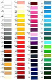2012 Harley Davidson Color Chart Premium Race Car Color Chart