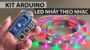 Chế mạch LED nháy theo nhạc bằng KIT ARDUINO 328 nano - Chơi tết - YouTube