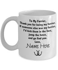 Gift For Farrier From Your Horse