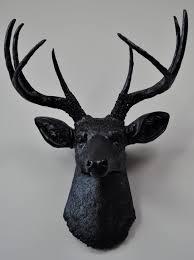 black deer head wall decor spectacular deer head wall