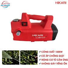 BH 24 THÁNG ] Máy rửa xe mini I Máy rửa xe cao áp HIKARI 2000W HK-H3 - Có  áp chống giật + Chống cháy - Máy xịt rửa và phụ kiện