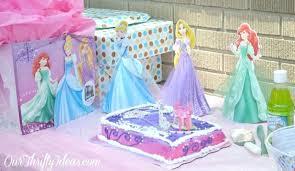 Disney Princess Birthday Cake Walmart Baby Girl Barkers Celebration