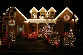 Small Picture Outside Christmas Decorating Ideas House Pictures Of Christmas