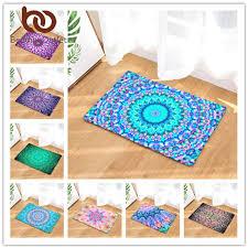 Bohemian Patterns Impressive Floor Mat Bohemian Mandala NonSlip Rug 48 Patterns BMEssentials