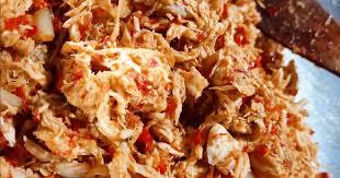 Ayam suwir pedas (untuk aneka isian cemilan). 75 818 Resep Makanan Ringan Pedas Enak Dan Sederhana Ala Rumahan Cookpad