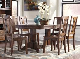 ashley furniture kitchen tables: ashley furniture chimerin oval dining room extension table set