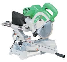 sliding compound miter saw. hitachi c10fsb 12 amp 10-inch dual bevel sliding compound miter saw