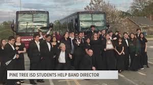 Pine Tree HS seniors help band director | cbs19.tv