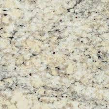 3 in x 3 in granite countertop sample in white ice