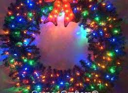 large outdoor lighted wreaths lighted outdoor wreaths outdoor designs home interior figurines