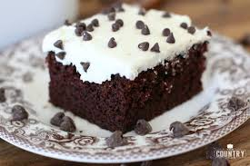 Easy One Bowl Chocolate Cake Video The Country Cook