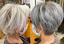 older women with thin hair