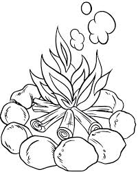 Small Picture Campfire Coloring Pages GetColoringPagescom