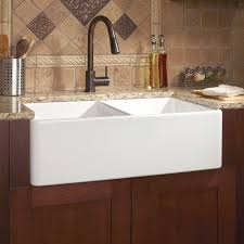double farmhouse sink. Delighful Double A Sink To Make The Chefand Person Cleaning Upquite Merry The  Reinhard Double Bowl Fireclay Farmhouse Sink To Sink